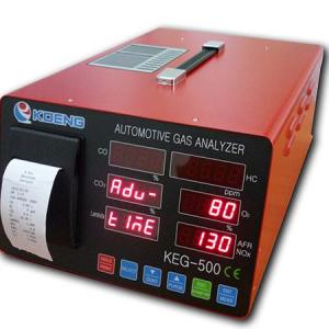 Automotive gas analyzer KEG-500 01